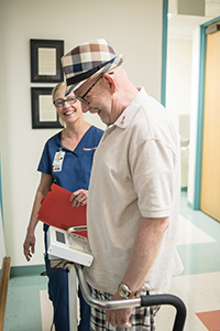 Nurse and resident of CommUnityCare David Powell Health Center