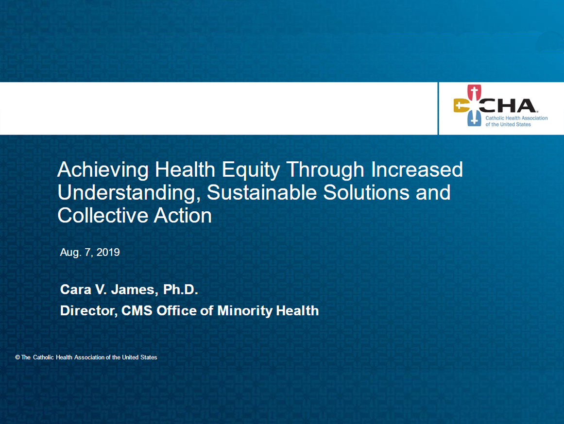 Achieving Health Equity cover