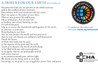 Encyclical Prayer Card - Back