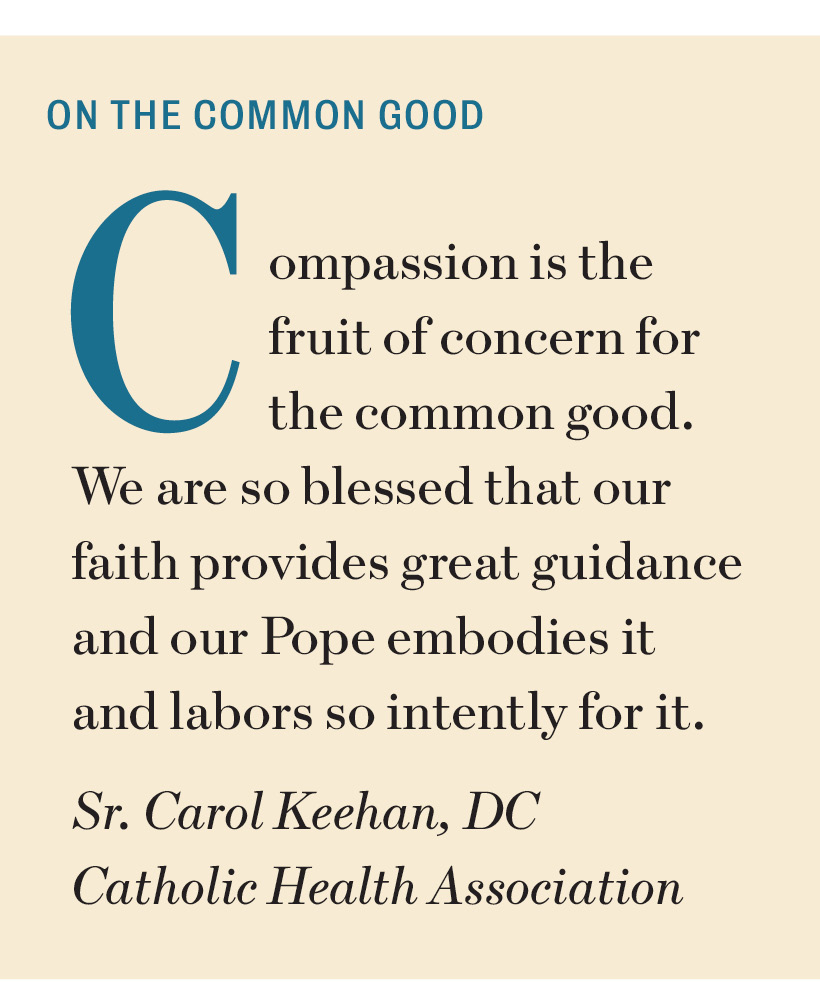Sr. Carol Keehan quote