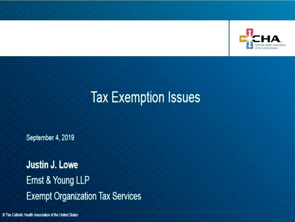 190904 Tax Exemption Webinar