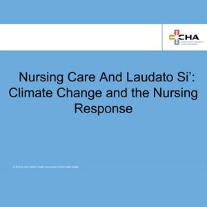 Learning_NursingCareLaudatoSi