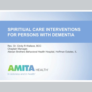 Learning_SpiritualCareInterventionsDemensia