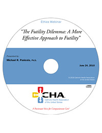 The Futility Dilemma: A More Effective Approach - Ethics Webinar Recording - June 24, 2010 (CD)