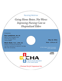 Going Home Better, Not Worse: Improving Nursing Care for Hospitalized Elders - NICHE Webinar Recording - May 12, 2011 (CD)