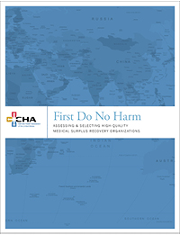 First Do No Harm: Assessing & Selecting High Quality Medical Surplus Recovery Organization
