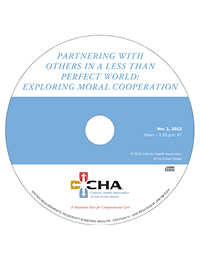 Partnering with Others in a Less than Perfect World:  Exploring Moral Cooperation - Ethics Webinar Recording - November 1, 2012  (CD)