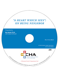 A Heart Which Sees:  On Being Neighbor (CD)