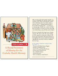 A Shared Statement of Identity for the Catholic Health Ministry: Pocket Cards (Packs of 50)
