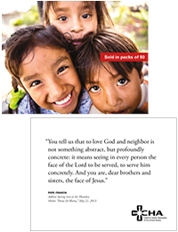 International Outreach Prayer Card (Packs of 50)