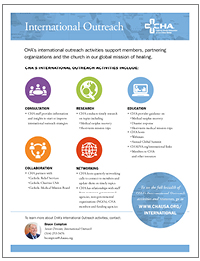 International Outreach Services and Resources Flyer