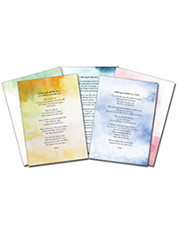 Voices from the Journey Prayer Cards - English