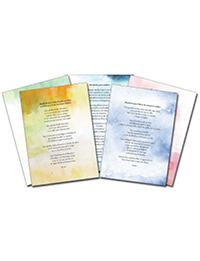 Voices from the Journey Prayer Cards - Spanish