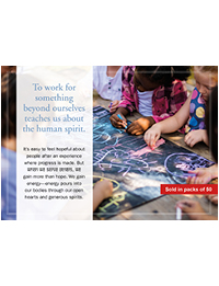 Community Benefit - Neighborhood Partnerships Prayer Card (Packs of 50)