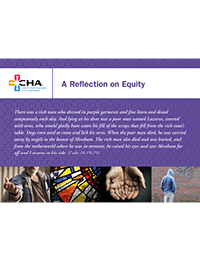 A Reflection on Equity Prayer Card