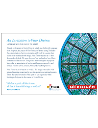 An Invitation to Visio Divinia - A Process Guide (Packs of 50)