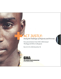 Act Justly: Facing the Challenges of Disparity and Diversity (4 CD Set)