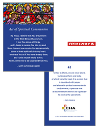 Spiritual Communion Card (Packs of 50)